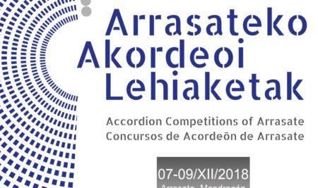 """""""Arrasate Hiria"""" Nazioarteko XXVI Akordeoi Lehiaketa"""